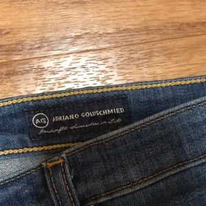 Ag Adriano Goldschmied Jeans - Adriano Goldschmied Stevie Crop Slim Straight Crop